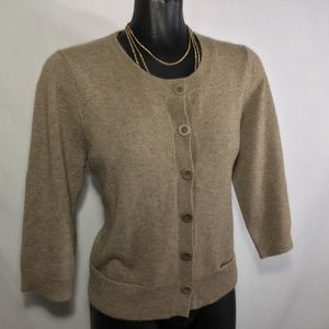 Eileen Fisher | 100% Cashmere Cardigan sweater